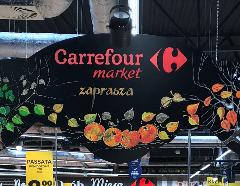 Carrefour Store Visits