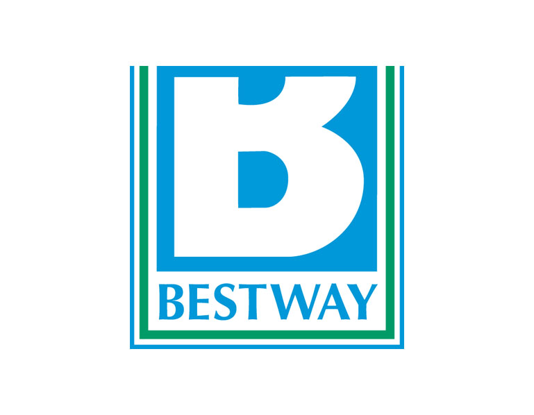 Logo bestway for Cash piscine catalogue 2017